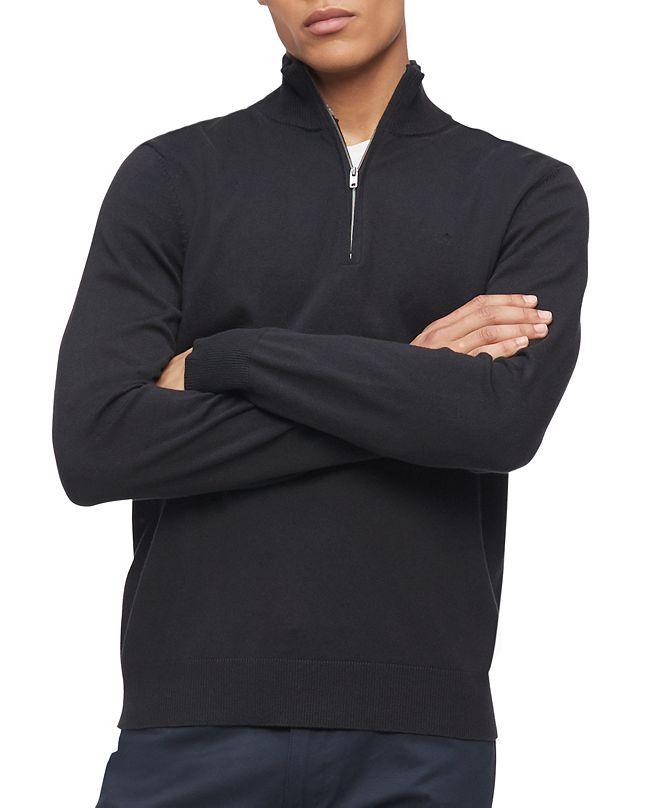 Calvin Klein Men's 1/4-Zip Sweater