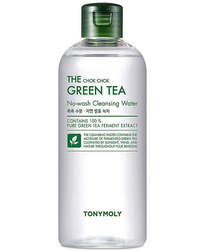 TONYMOLY - The Chok Chok Green Tea Cleansing Water, 10.1-oz.
