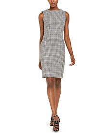 Gingham Sheath Dress