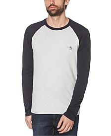Men's Colorblocked Jacquard T-Shirt