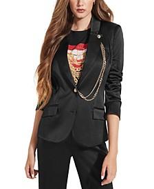 Deva Chain-Embellished Blazer