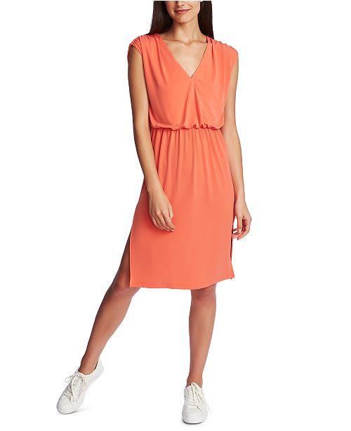 1.STATE Cinched V-Neck Dress