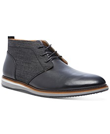 Men's Hinton Mixed-Media Chukka Boots