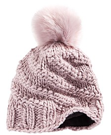 High Line Pom Beanie Hat