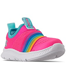 Toddler Girls Comfy Flex 2.0 Rainbow Delight Slip-On Running Sneakers from Finish Line
