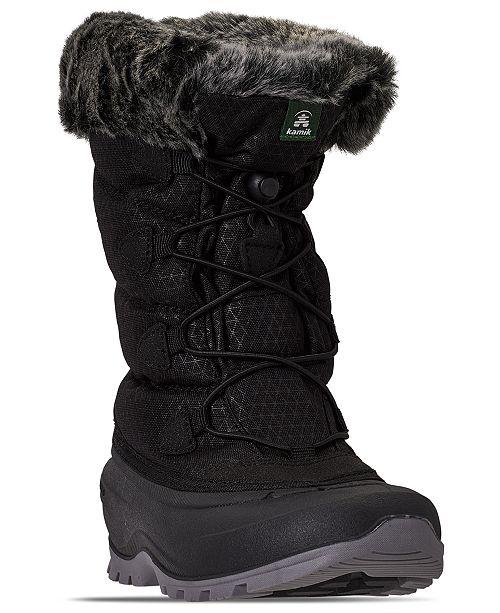 Kamik Women's Momentum2 Waterproof Winter Boots from Finish Line