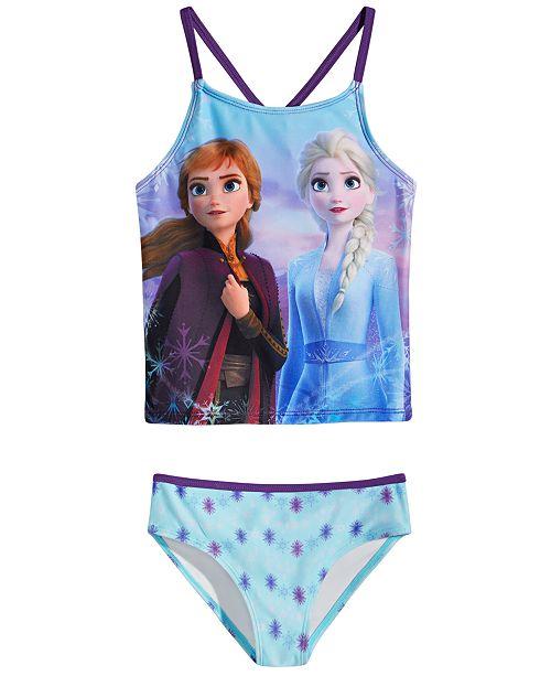 Dreamwave Little Girls 2-Pc. Frozen Tankini Swimsuit