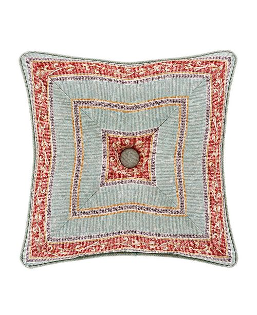 "J Queen New York Jqueen Estonia 18"" Square Decorative Throw Pillow"