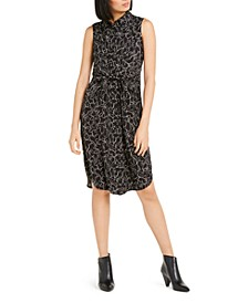 Sleeveless Tie-Waist Shirtdress, Created For Macy's