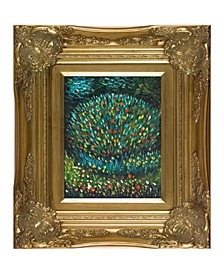 "by Overstockart Apple Tree I by Gustav Klimt with Victorian Frame Oil Painting Wall Art, 18"" x 16"""