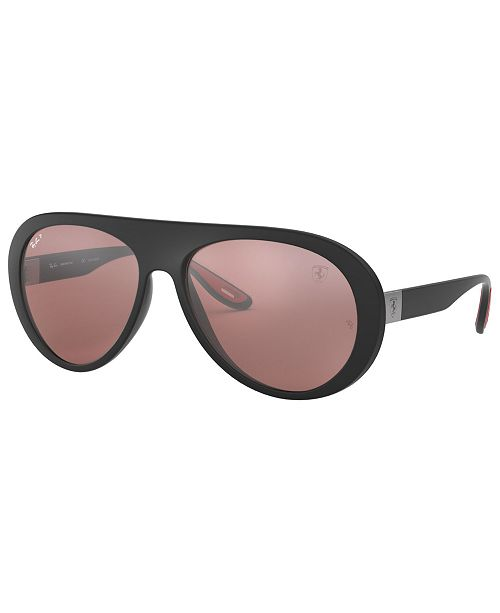 Ray-Ban Men's Polarized Ferrari Sunglasses