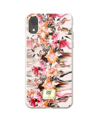 Marble Flower Case for iPhone XR