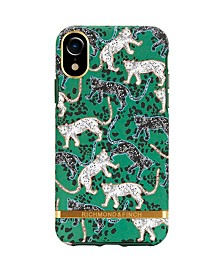 Green Leopard Case for iPhone XR