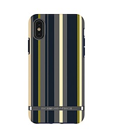 Navy Stripes Case for iPhone X and Xs