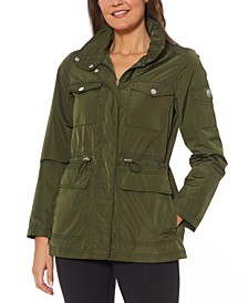 Cinched-Waist Anorak