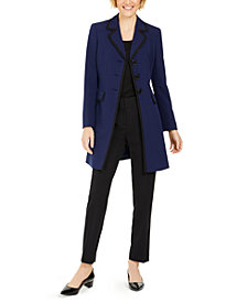 Le Suit Topper-Jacket Pants Suit