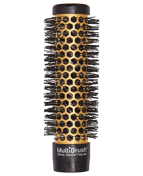 "Olivia Garden Detachable Thermal Styling MB-26B Hair Brush, 1"" Barrel"