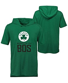 Big Boys Boston Celtics Static Performance T-Shirt