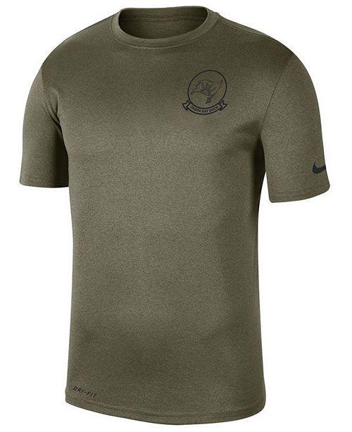 Nike Men's Tampa Bay Buccaneers Salute To Service Seal T-Shirt