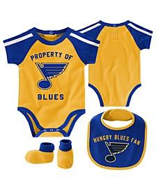 Baby St. Louis Blues Hard @ Play Bib & Bootie Set