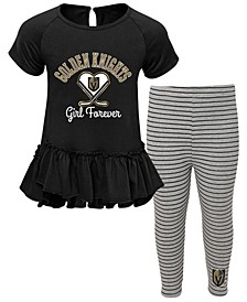 Little Girls Vegas Golden Knights Fly on Ice Set