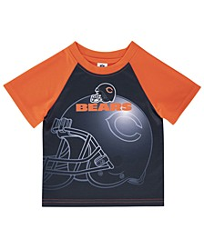 Toddlers Chicago Bears Poly Helmet T-Shirt
