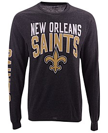 Men's New Orleans Saints Zone Read Long Sleeve T-Shirt