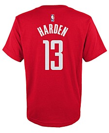 Big Boys James Harden Houston Rockets Name And Number T-Shirt