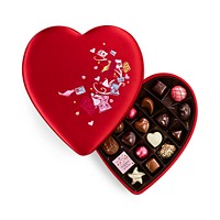 14-Pieces Godiva Valentine's Day Chocolate Gift Box in Fabric Heart