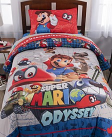Super Mario Twin 4-Piece Bed in a Bag