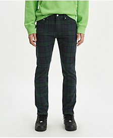 Men's 502™ Taper Plaid Twill Jeans