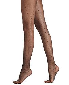 HUE® Women's  Dot Tulle Sheer Hosiery