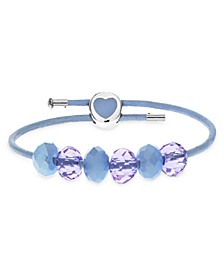 Children's  Premade Heart Clasp Charm Bracelet in Sterling Silver