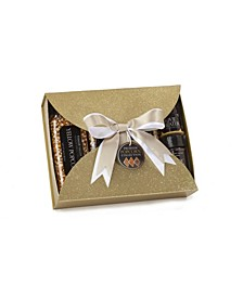 Premium Popping Set in Gold Glitter Gift Box