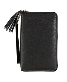 Genuine Leather North South Billfold Wallet