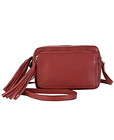 Caroline's Piggy Back Genuine Leather Crossbody