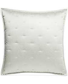Fresco Sage Quilted European Sham, Created for Macy's