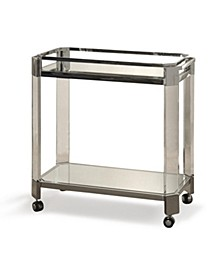 Transitional Bar Cart