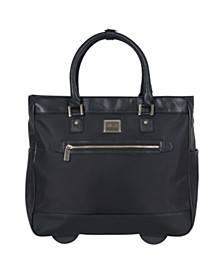 """""""Call It Off 16"""" Rolling Business Tote And Carry-On Bag"""