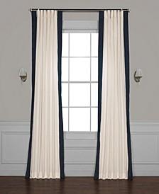Vertical Color block Panama Curtain Panel