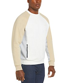 Men's Motion Regular-Fit Colorblocked Fleece Sweatshirt