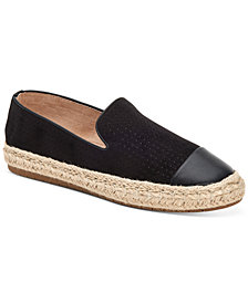 Charter Club Jonii Espadrille Flats, Created for Macy's