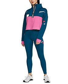 Pro Colorblocked Half-Zip Top & Dri-FIT Leggings