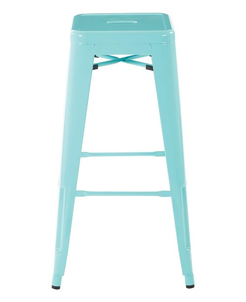 Office Star Patterson Bar Stool (Set of 4)