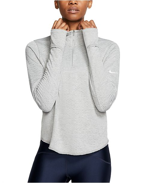 Nike Women's Element Sphere Half-Zip Running Top