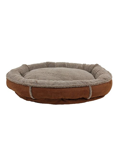 Carolina Pet Company Tipped Berber Round Comfy Cup Dog Bed
