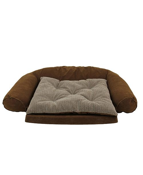 Carolina Pet Company Ortho Sleeper Comfort Couch, Removable Cushion