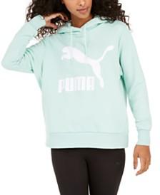 Puma Amplified Logo Cropped Hoodie & Reviews Tops Women