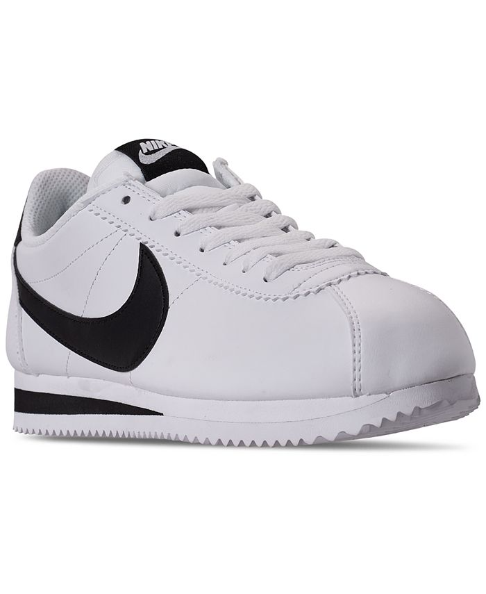Nike - Women's Classic Cortez Leather Casual Sneakers from Finish Line