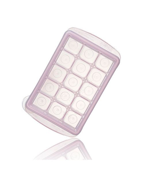 Easily Pops Out 15 Compartments Ice Cube Tray with Lid